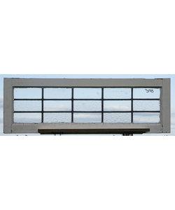 36 x 108,5 cm - Glas in lood raam No. 398