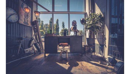 Industriële en vintage meubels