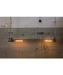 Industriële TL lamp caged 'Ex-proof'