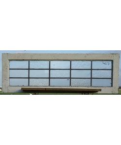 108 x 36 cm - Glas in lood raam No. 407