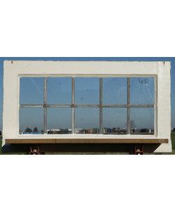 78 x 42,5 cm - Glas in lood raam No. 415