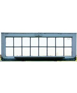 110 x 41 cm - Glas in lood raam No. 423