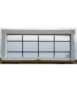 72 x 33 cm - Glas in lood raam No. 459