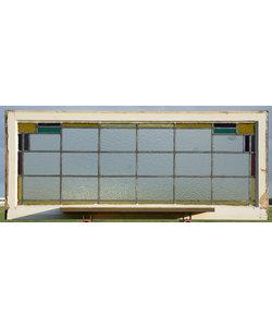 124 x 51,5 cm - Glas in lood raam No. 450