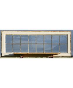 111 x 41 cm - Glas in lood raam No. 449