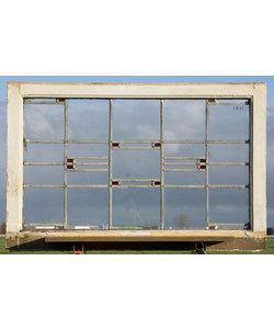 105 x 65 cm - Glas in lood raam No. 446
