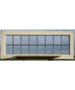 118 x 45,5 cm - Glas in lood raam No. 445