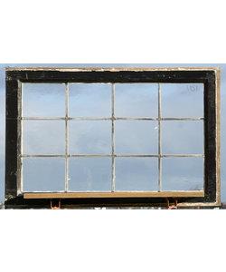 88 x 56,5 cm - Glas in lood raam No. 451