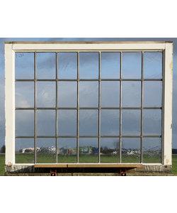 112,5 x 87,5 cm - Glas in lood raam No. 457