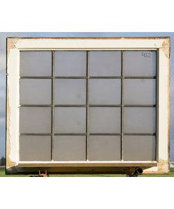 86,5 x 73 cm - Glas in lood raam No. 452