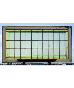 128 x 67 cm - Glas in lood raam No. 443