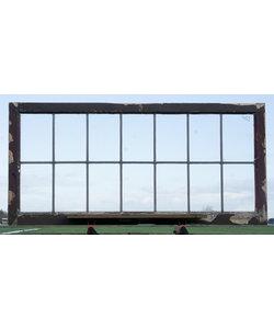 134,5 x 64,5 cm - Glas in lood raam No. 433