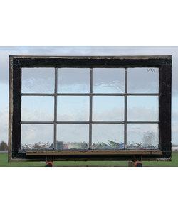 88 x 57,5 cm - Glas in lood raam No. 439