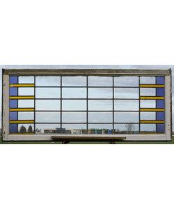 164,5 x 70 cm - Glas in lood raam No. 427