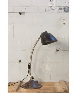 Bureaulamp 'Gooseneck Bakeliet'