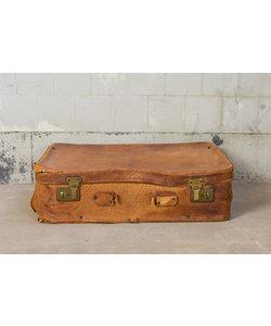 Vintage koffer - Bruin leder