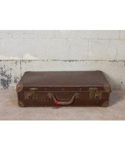 Vintage koffer - Donkerbruin