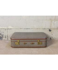Vintage koffer - Grijs/bruin