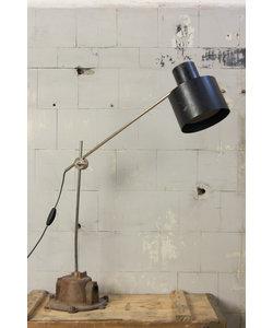 Vintage tafellamp - Zwart/metaal
