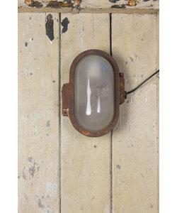 Industriële wandlamp 'Oválny'