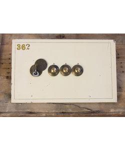 Vintage kluis deurtje - Groot