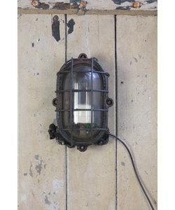 Stoere wandlamp 'Bunker'