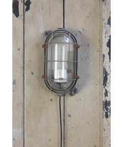 Industriële wandlamp - Aluminium