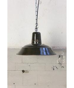 Vintage hanglamp  - Zwart/Groen