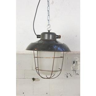 """Industriële kooilamp """"Petrovice black"""""""