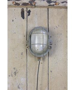 Stoere wandlamp - Lichtgrijs