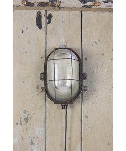 Vintage wandlamp 'Caged Rez'
