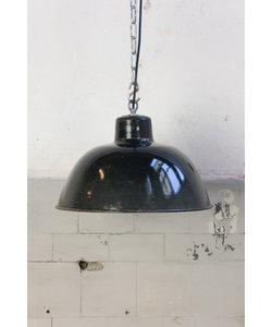 Stoere hanglamp 'Black hood S No. 2'