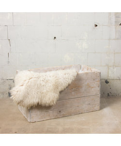Stoere houten kist