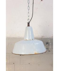 """Fabriekslamp """"Bauhaus Grey Emaille"""""""