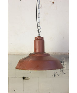 Bauhaus hanglamp - Rood/bruin