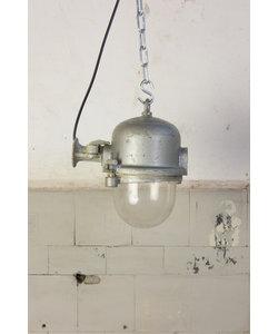 Stoere metalen hanglamp 'plastický'