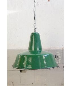 Bauhaus hanglamp - Diep groen