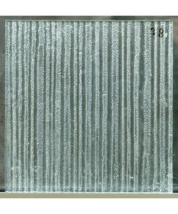30 x 29,3 cm - Structuurglas No. 38