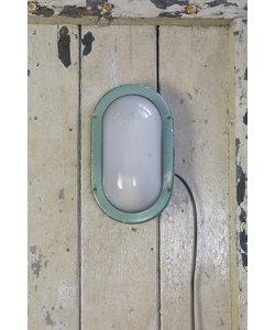 Ovalen wandlamp - Green