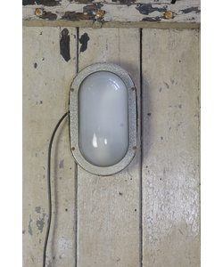 Ovalen wandlamp - Light grey