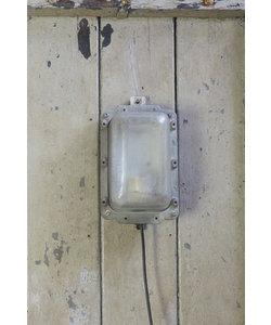 Stoere wandlamp 'Lipec' Grijs