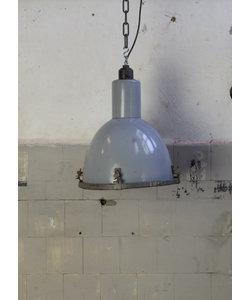 Stoere hanglamp - Grijs/Blauw