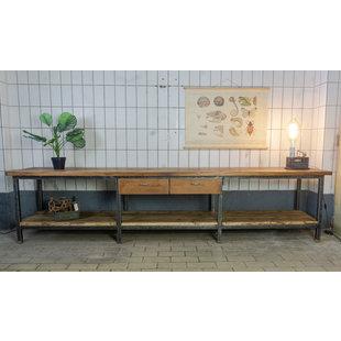 Industriële tafel - Brushed XL
