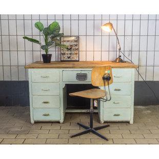 Vintage bureau - Licht groen