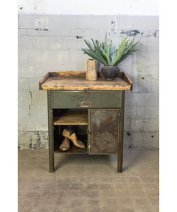 Vintage werkbank - Maly Green