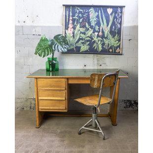 Houten bureau 'Zelená'