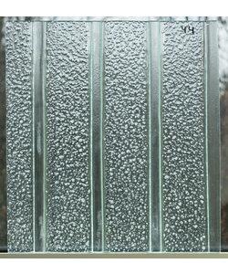 40 x 36,5 cm - Structuurglas No. 44