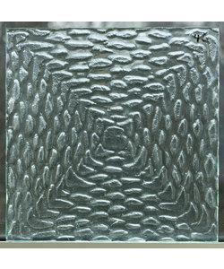 35 x 35 cm - Decoratief glas No. 46