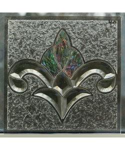 30 x 30 cm - Decoratief glas No. 48