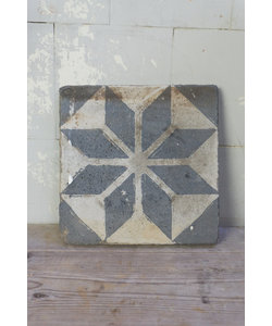 Decoratieve tegel - Blauw patroon